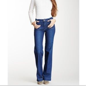 Anthro MiH The Milán F9 Mid Rise Column Jeans 26